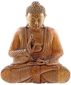 buddha en bois