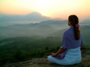 meditation en pleine nature