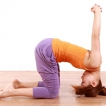 yoga heron pose