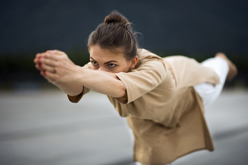 Upa yoga, la fluidité