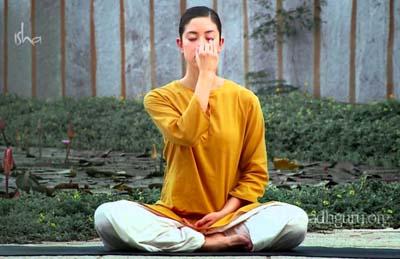 Exercice De Yoga Respiration Alternee Pranayama Essentiel