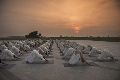 Cours de yoga à Lyon