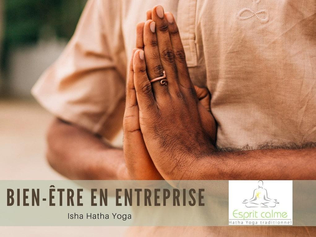 yoga entreprises lyon