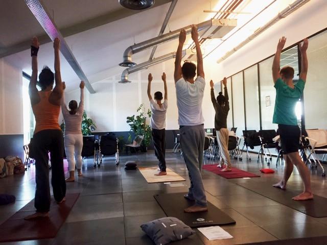 Yoga dynamique Lyon