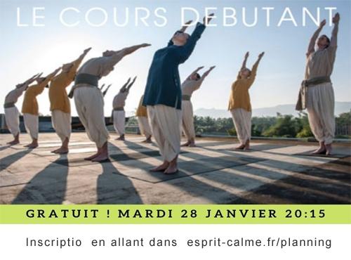 Cours de yoga gratuit Lyon