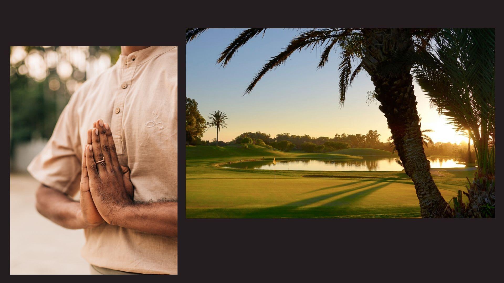 Stage retraite yoga & golf Maroc Agadir